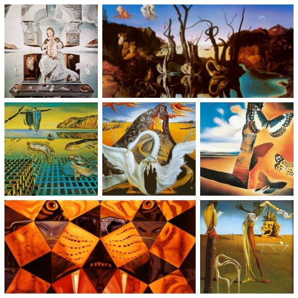 salvador dali art style Salvador dalì is considered one of the the master of surrealism, an artistic and literary movement founded by a group of writers in the in the early 1920s salvador dali surrealism and art style | the dalí universe.