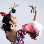 Castanets and Spanish folk dancing