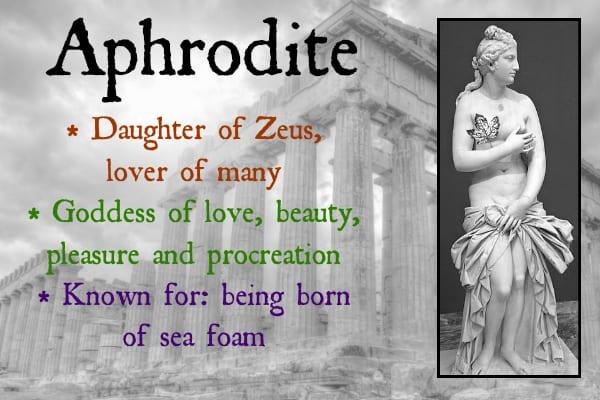 greek goddess of love and beauty