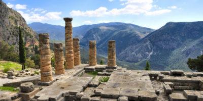 Temple Apollo Delphi